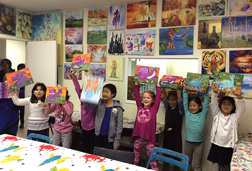Winter Art program